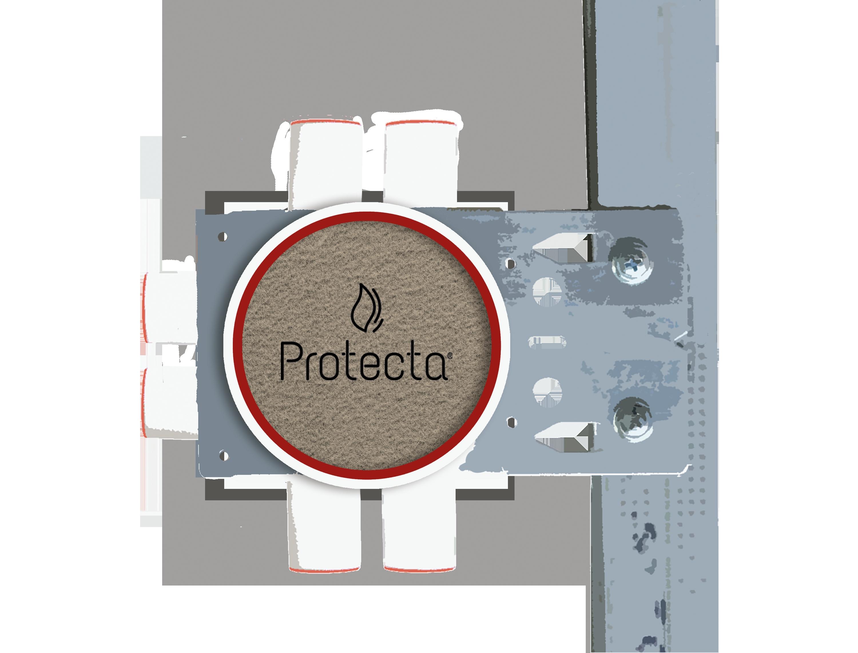 Protecta brannplate